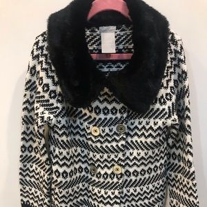 Tahari girls brand new sweater coat size 6X